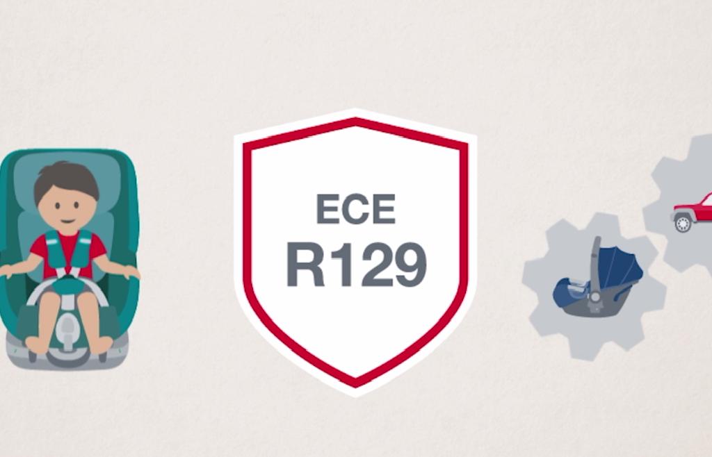 стандарт ECE R129 на детские автокресла