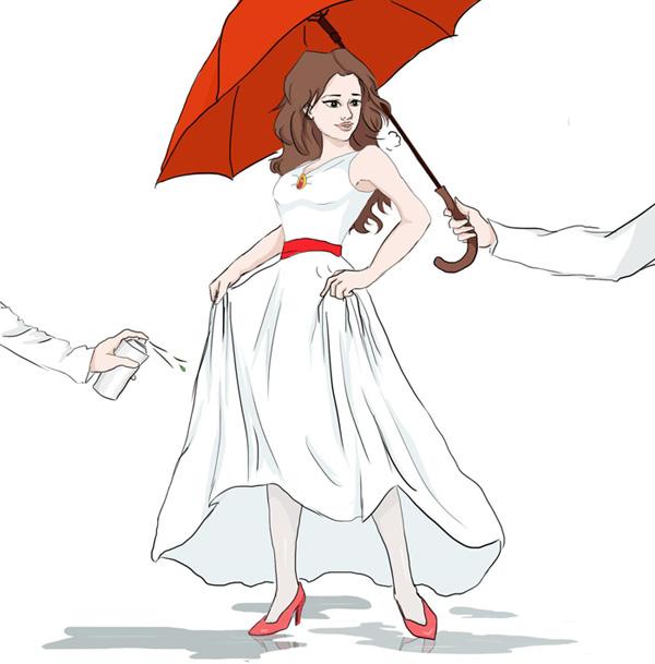 Как сохранить свадебное платье для проката