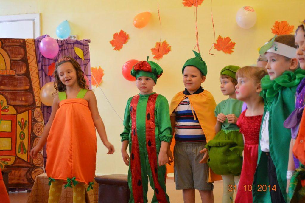 Прокат костюмов для осенних праздников в школе и детском саду