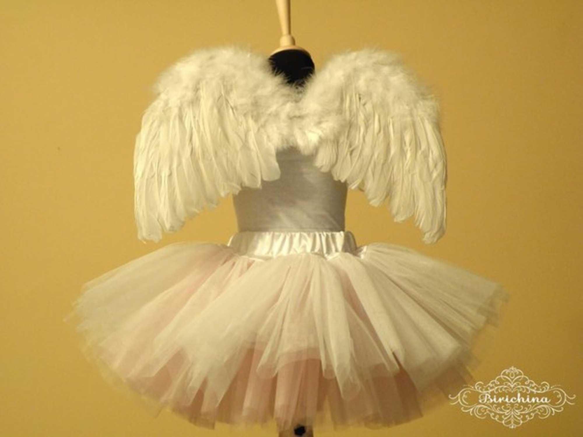 Как сделать костюм с крыльями ангела как сделать крылья ангела своими 51