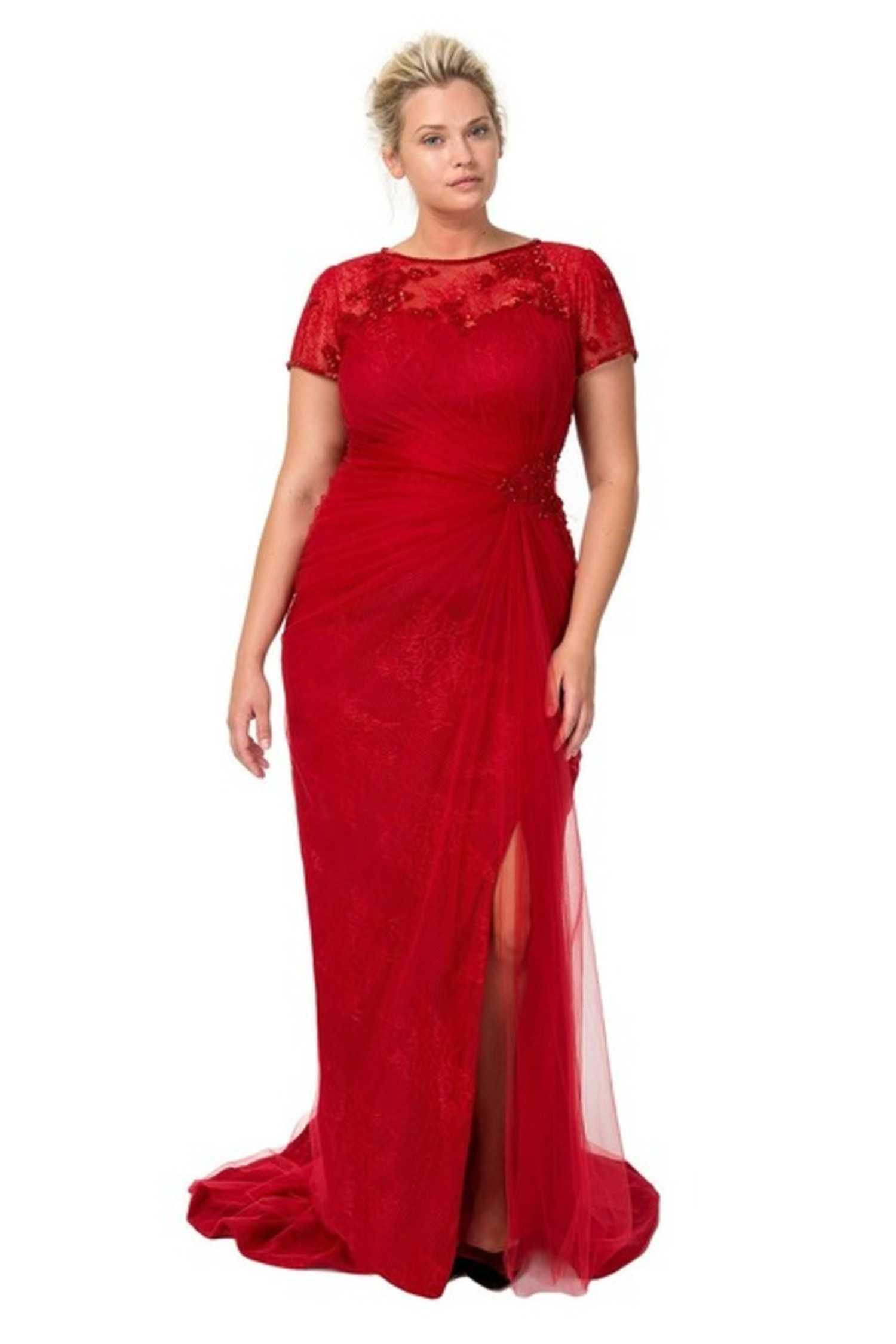 вечерние платья для полных женщин 40 лет фото