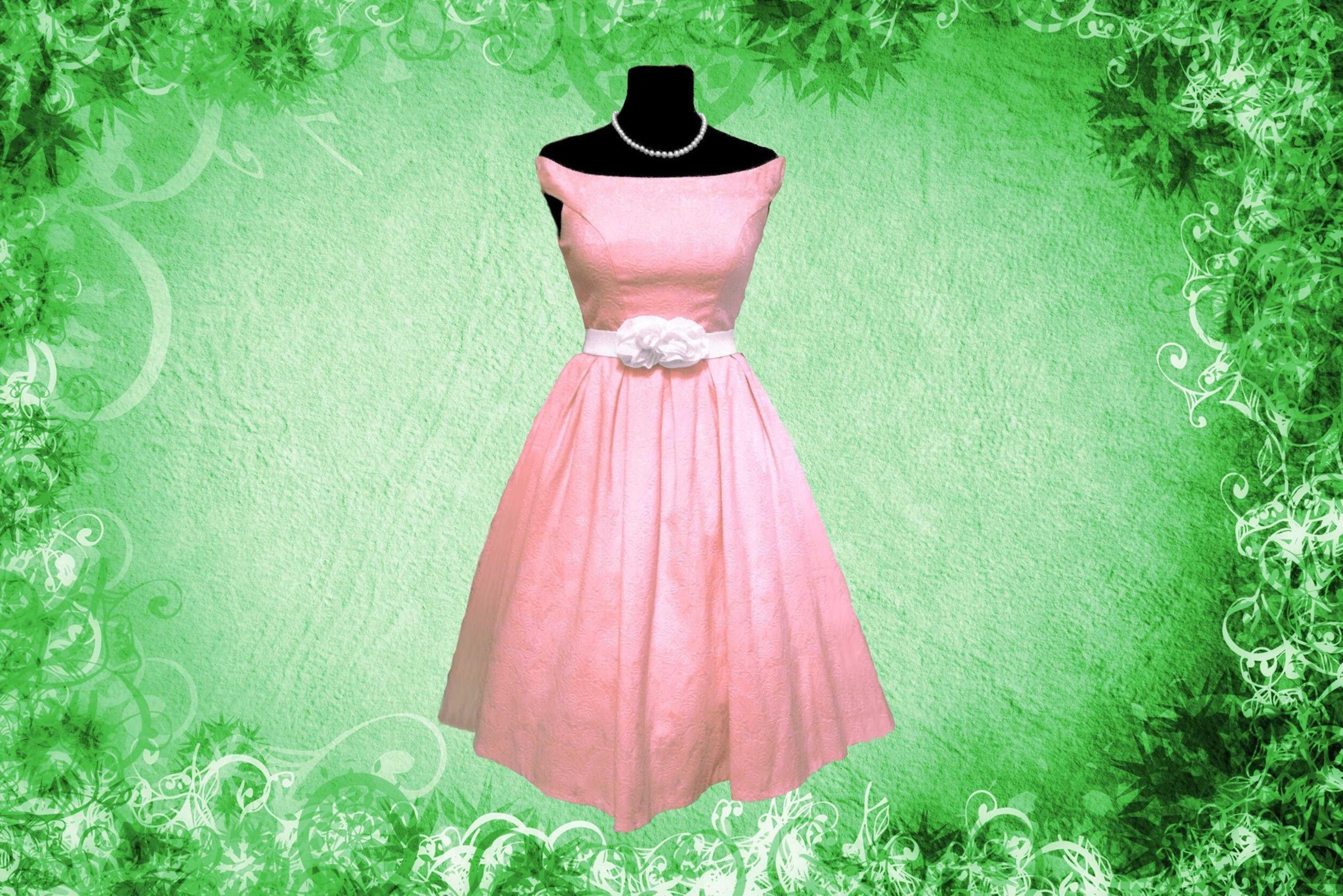 Платья в стиле 50 х годов