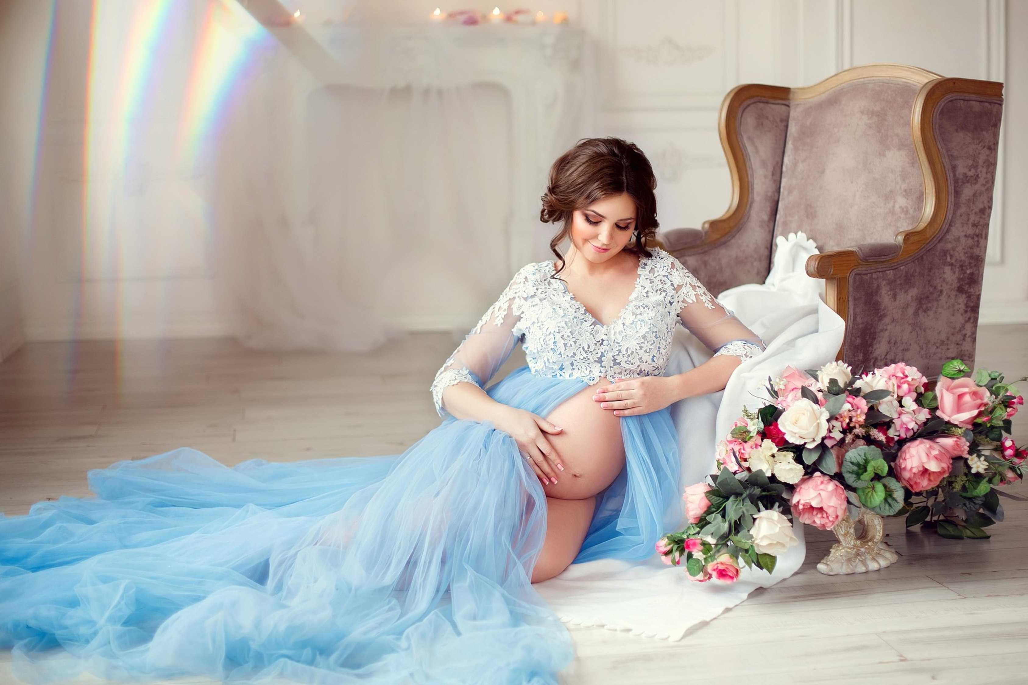 Прокат платьев для беременных длясессии киев