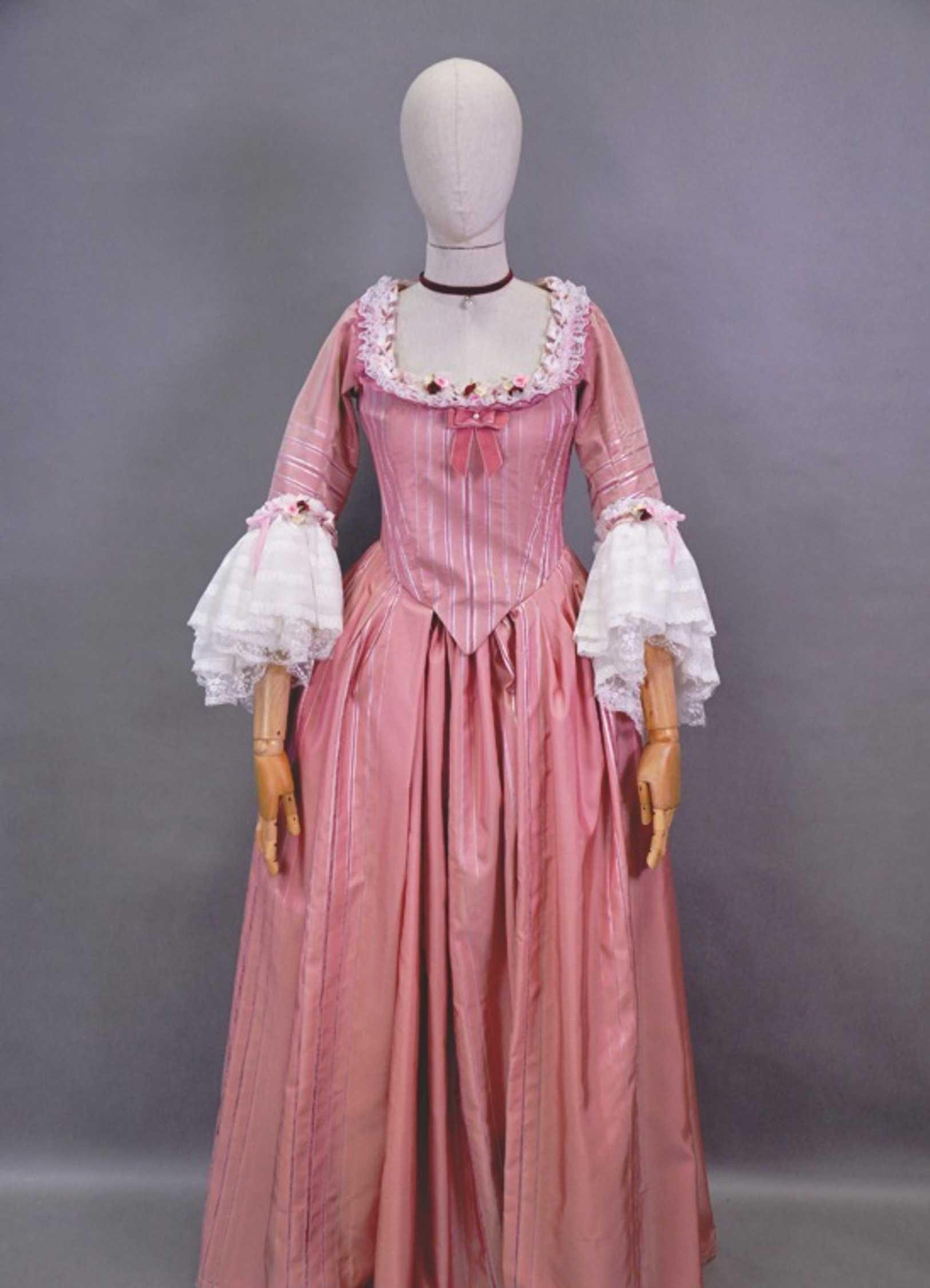 Как сшить платье бальное 18 века 55