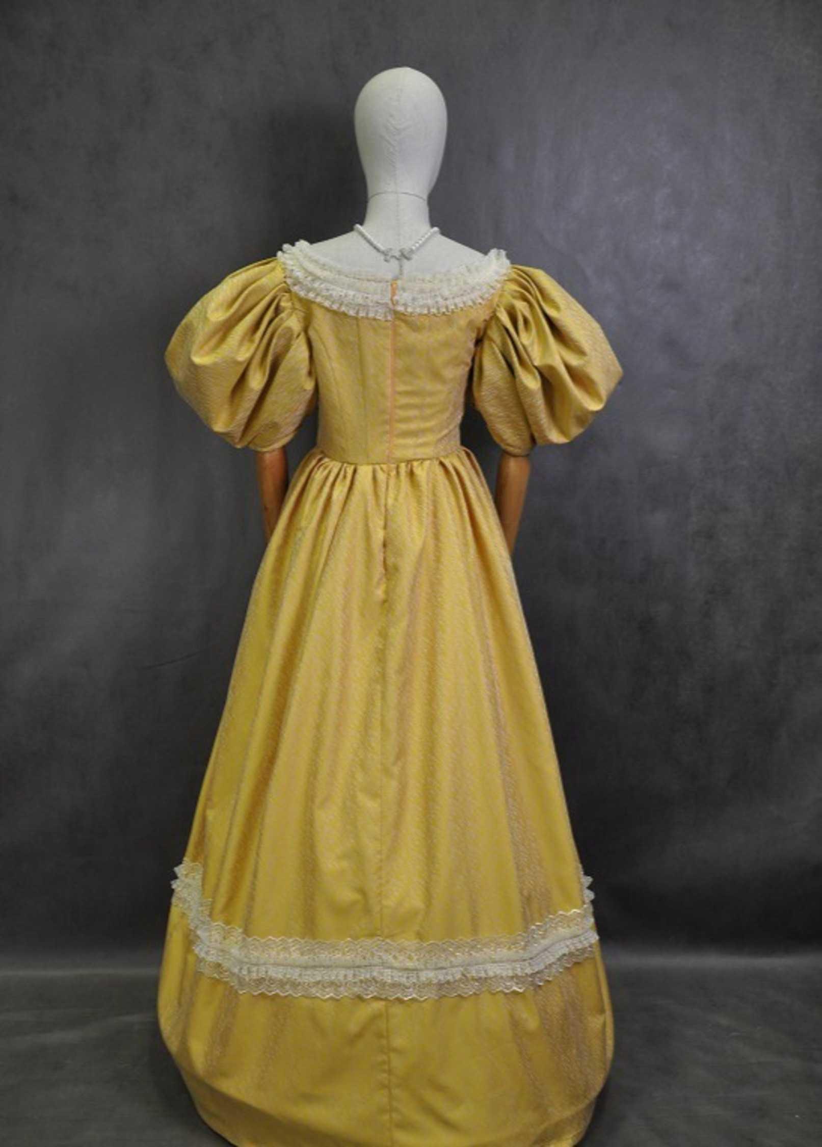 Как сшить платье бальное 18 века 30