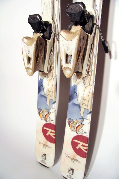 Взять в прокат Зимний инвентарь Горные лыжи Горные лыжи Rossignol Temptation 74; Москва , Москва ул.; Описание: 120-74-110