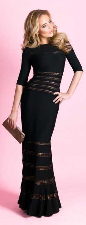 Взять в прокат Женская одежда Платья Tadashi вечернее платье ; Москва , улица Рождественка, 25 ул.; Описание: Tadashi вечернее платье с рукавами  размеры 44, 46