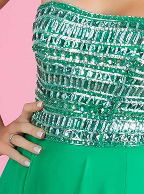 Взять в прокат Женская одежда Платья Sherri Hill Emerald; Москва , улица Рождественка, 25 ул.; Описание: Sherri Hill Emerald вечернее платье размер XXS