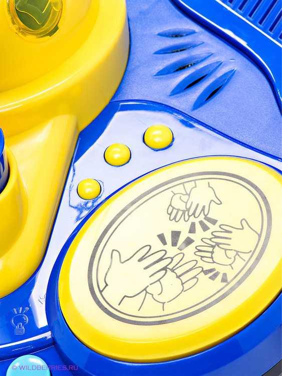 Взять в прокат Детство Игрушки Микрофон диско Маша и медведь; Москва , ул. Бажова, д. 17, стр 2 ул.; Описание: Микрофон диско Маша и медведь Устройте настоящую дискотеку у себя дома, а главным артистом пусть будет ваш малыш. Микрофон устанавливается на высоту от 50 см до 100 см от пола и немного усиливает голос. Диско-шар, который мигает разноцветными огнями и звуковые кнопки, имитирующие аплодисменты, бурные аплодисменты, барабанную дробь и ликование зрителей наверняка понравятся вашему малышу. Начинать играть можно с полутора лет, верхней возрастной границы для этой игрушки нет, поэтому мамы и папы могут присоединиться и исполнить в микрофон свою любимую песню :)