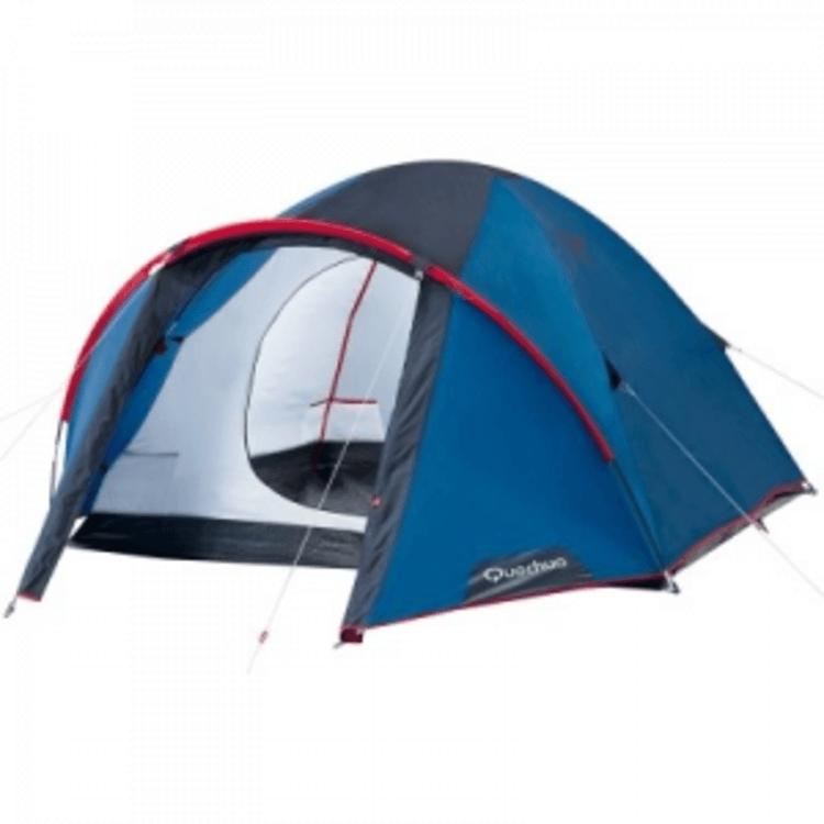 Взять в прокат Туризм Палатки/тенты Туристическая палатка Quechua T3; Москва , 38-й квартал Юго-Запада ул.; Описание: Трехместная палатка известной фирмы небольшой тамбур,который позволит спрятать свои вещи от дождя.В этой палатке разместятся трое человек с комфортом.Собирается очень легко,соберет даже ребенок.