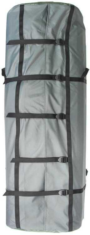 """Взять в прокат Туризм Рюкзаки Рюкзак """"Водника""""; Москва , 2-я улица Марьиной Рощи, вл22 ул.; Описание: Легкий и прочный большой рюкзак-упаковка для байдарки или катамаранавысотой 120 см, объём 150 л. Регулируется несколькими стяжками.  Упаковка для байдарки или катамарана представляет собой рюкзак прямоугольной формы, на передней стенке которого пришиты две грузовые лямки. Для удобства упаковки катамарана и вещей по всей длине задней стенки сделан разрез, который закрывается клапаном и стягивается несколькими лентами с регулировочными силовыми пряжками 25 мм.  Размер основания 25х50 см, высота 120 см. В верхней части находится бейджик для бирки с информацией.  Для удобства транспортировки на боковых стенках пришиты две силовые ручки."""