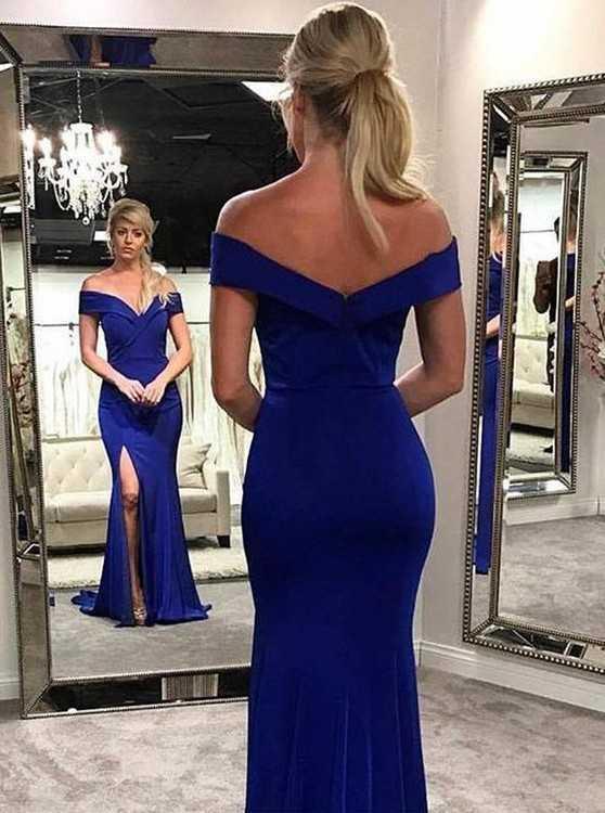 Взять в прокат Женская одежда Платья Синее вечернее платье 237; Москва , Кадашёвская набережная, 22/1с1 ул.; Описание: