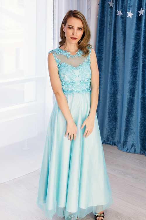 3dae15323c0 Взять в прокат Женская одежда Платья Красивое бирюзовое платье в пол   Москва