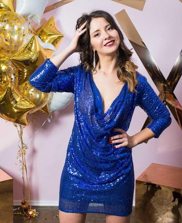 Взять в прокат Женская одежда Платья Блестящее платье NastyGal; Санкт-Петербург , Конюшенная площадь, 2В ул.; Описание: