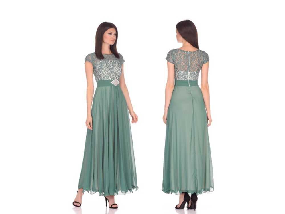9952475f981 Взять в прокат Женская одежда Платья Красивое зеленое платье в пол  Москва