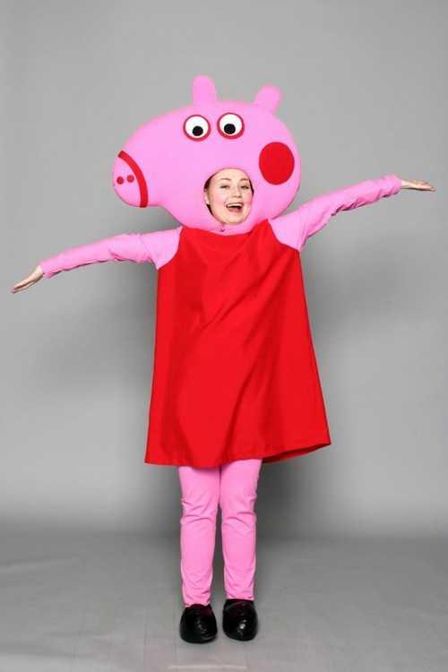 Взять в прокат Карнавальные костюмы для взрослых Животные Свинка Пеппа   Москва  3cd4e80b27d11