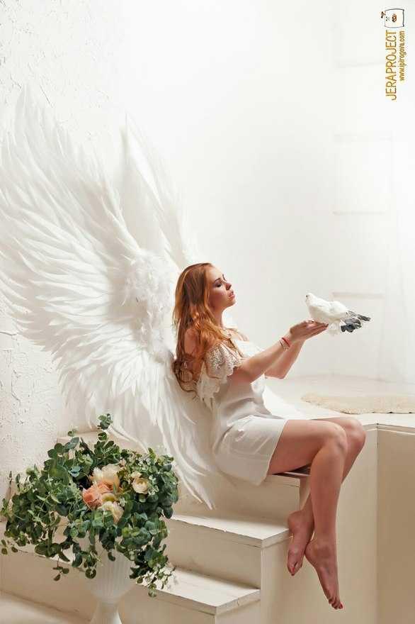 аренда крылья для фотосессии проще