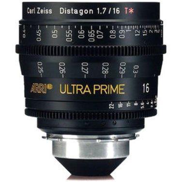 Фотообъективы ARRI ULTRA PRIME, PL T1.9/16mm напрокат | Аренда и прокат – Москва