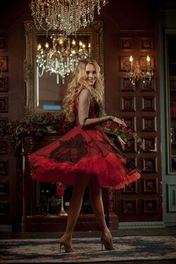 Платья коктейльное пышное платье напрокат | Аренда и прокат – Санкт-Петербург