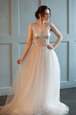 Платья Платье с пайетками Серая дымка напрокат | Аренда и прокат – Санкт-Петербург