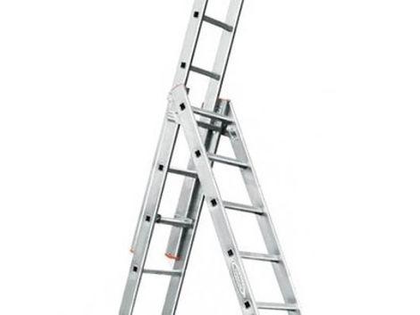 Строительное оборудование Лестница трехсекционная 6 метров напрокат | Аренда и прокат – Ярославль