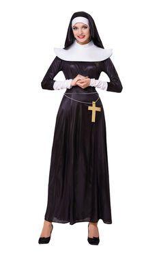 Ролевые костюмы Монашка костюм напрокат | Аренда и прокат – Санкт-Петербург