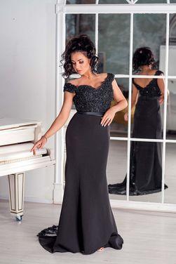 Платья Платье Peony Black напрокат | Аренда и прокат – Москва