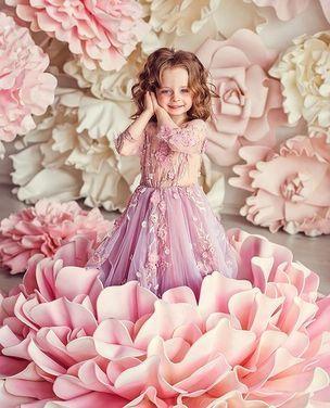 Платья и одежда для девочек Детское Платье Весна напрокат | Аренда и прокат – Москва
