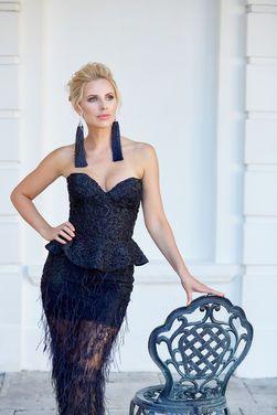 Платья Роскошное вечернее платье OBlanc напрокат | Аренда и прокат – Москва