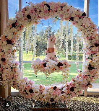 Арки Круглая арка из цветов напрокат | Аренда и прокат – Москва