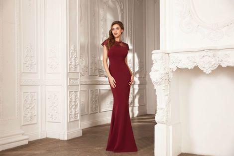 Платья Русалка цвета марсала (винный) напрокат | Аренда и прокат – Москва