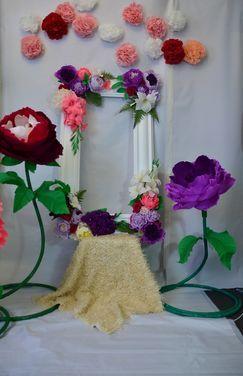 Другое Макроцветы (большие цветы, декор) напрокат   Аренда и прокат – Москва
