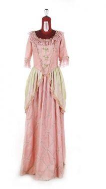 Исторические костюмы Платье историческое 18 века. Розово напрокат   Аренда и прокат – Москва