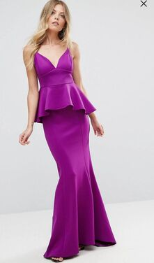 Платья Фиолетовое  вечернее платье напрокат | Аренда и прокат – Санкт-Петербург