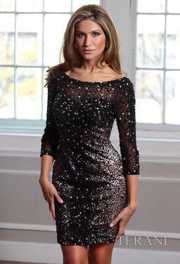 Платья Короткое платье TERANI TI013 напрокат | Аренда и прокат – Москва