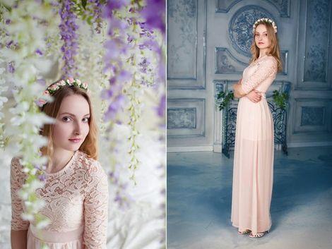Платья Платье с кружевным лифом напрокат | Аренда и прокат – Санкт-Петербург