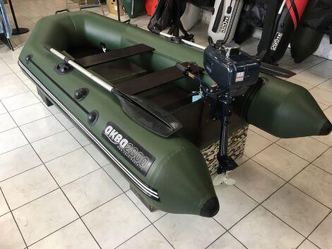 Надувные лодки Лодка «Аква» 2800 мотор Hangkai 3.5 напрокат | Аренда и прокат – Москва