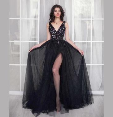 Платья Платье Barbara black напрокат | Аренда и прокат – Москва