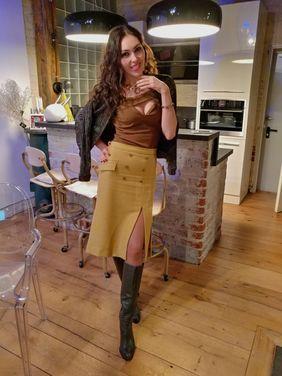 Другое Дизайнерская блузка хаки Dolce Vita напрокат | Аренда и прокат – Москва