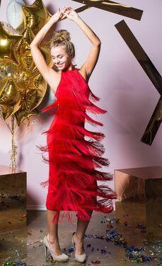 Платья Платье макси с кисточками напрокат | Аренда и прокат – Санкт-Петербург