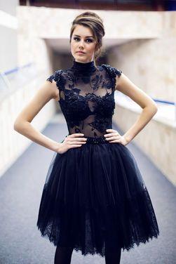 Платья пышное короткое черное платье напрокат | Аренда и прокат – Санкт-Петербург