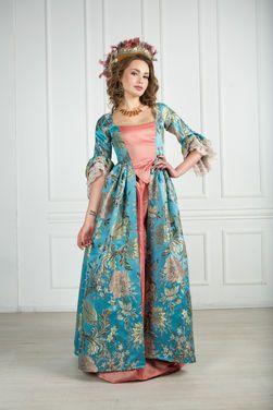 Исторические костюмы Платье 18 век VERSAILLES напрокат   Аренда и прокат – Москва
