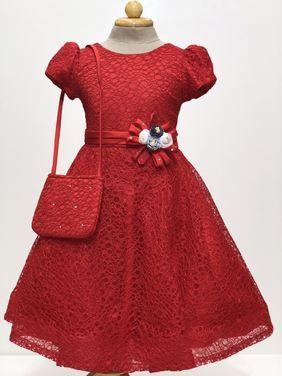 Платья и одежда для девочек Платье красное коктельное напрокат | Аренда и прокат – Пермь