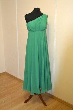 Платья Зелёное вечернее платье напрокат | Аренда и прокат – Самара