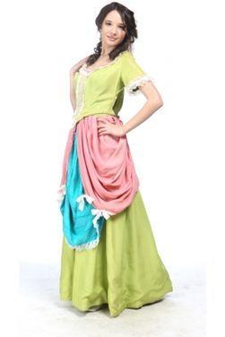 Исторические костюмы Платье 18 века. Прогулочное напрокат | Аренда и прокат – Москва