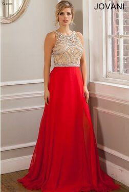 Платья Вечернее платье JOVANI JVN026 напрокат   Аренда и прокат – Москва