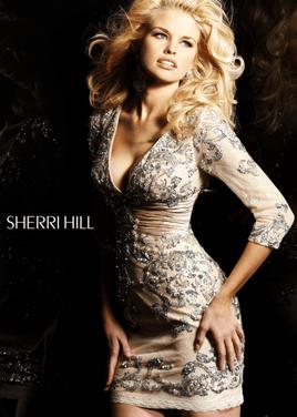 Платья Короткое платье SHERRI HILL SH008 напрокат | Аренда и прокат – Москва