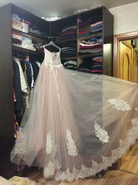 Платья Пудровое платье напрокат | Аренда и прокат – Санкт-Петербург