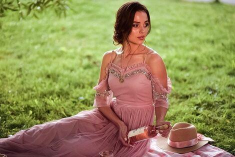 Платья Нежное пыльно-розовое платье напрокат | Аренда и прокат – Санкт-Петербург