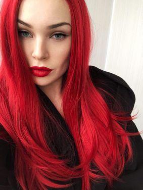 Другое Красный парик напрокат | Аренда и прокат – Москва